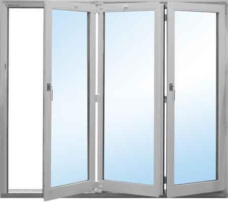 پنجره آکاردئونی upvc