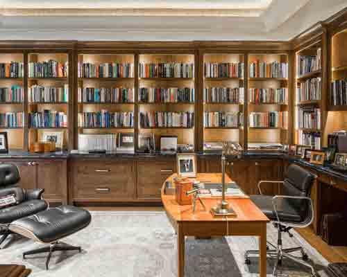 ساخت کتابخانه در منزل, ساخت کتابخانه چوبی