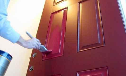 نقاشی درب منزل, نقاشی درب ساختمان