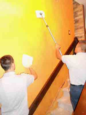 تعمیر سقف کاذب, تعمیر رطوبت سقف