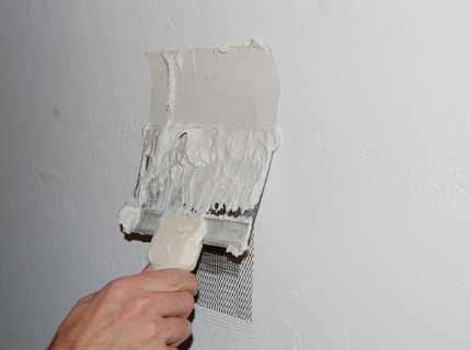 گچ کاری ساختمان, نقاشی ساختمان