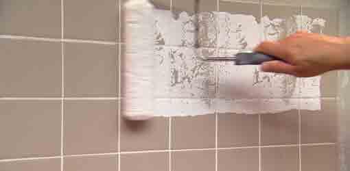 تعمیر رنگ دیوار, تعمیر دیوار حمام