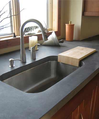 نصب سینک شیشه ای, نصب سینک ظرفشویی روکار