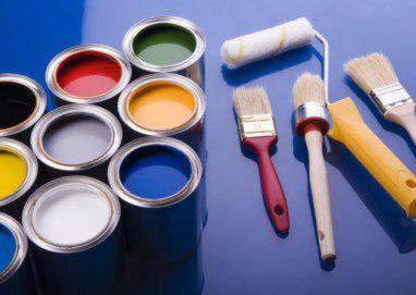 نقاشی ساختمان با رنگ روغنی یا رنگ پلاستیک