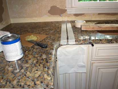 سنگ اپن آشپزخانه, سنگ اپن ام دی اف