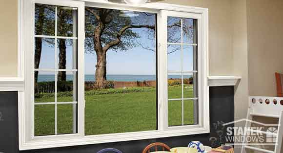 انواع مدل پنجره های دوجداره