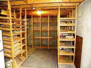 طبقه بندی انباری, قفسه بندی انباری منزل