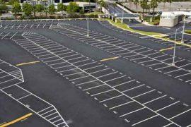 آموزش خط کشی پارکینگ