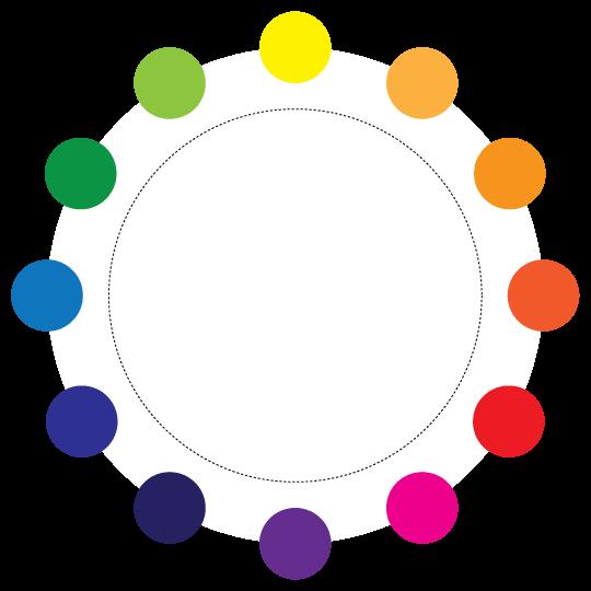 دایره رنگ راهی مناسب برای انتخاب ترکیب درست رنگی