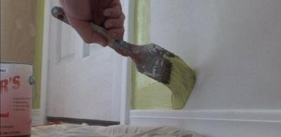 نقاشی درب ساختمان, نقاشی درب منزل