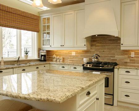 بررسی سنگ گرانیت برای آشپزخانه