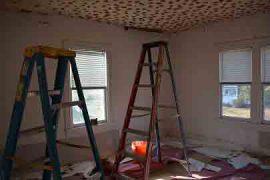 گچ بری سقف, گچ بری ساختمان