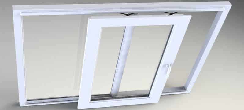 پنجره های فولکس واگنی يو پی وی سی