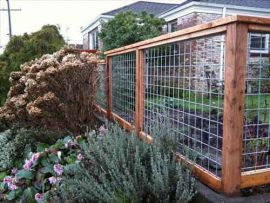 فنس کشی باغ, فنس کشیدن دور باغ