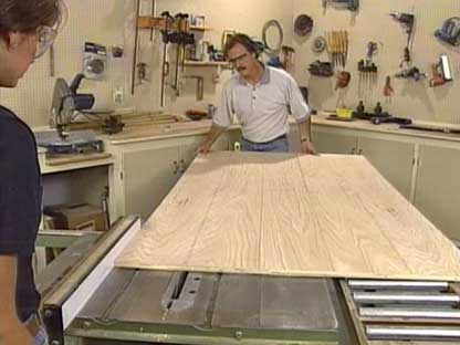 آموزش ساخت کتابخانه چوبی در منزل