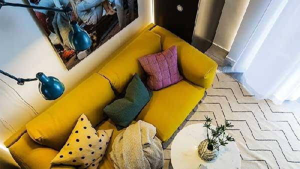 طراحی های زیبای اتاق نشیمن