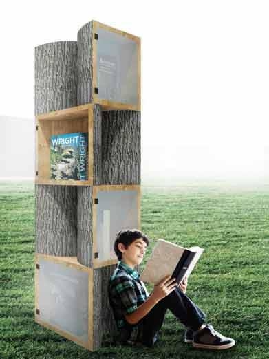 ساخت کتابخانه های کوچک ارزان
