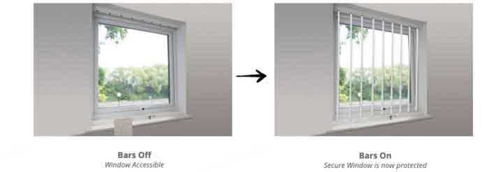 حفاظ امنیتی پنجره