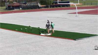 نصب چمن مصنوعی فوتبال