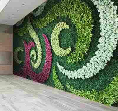 چمن مصنوعی تزئینی و فضای سبز