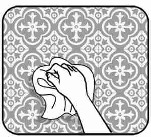 برچسب کاشی ضد آب