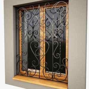 حفاظ تزئینی پنجره
