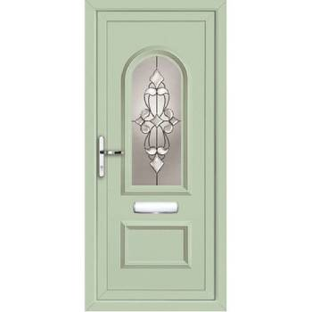 درب و پنجره upvc رنگی